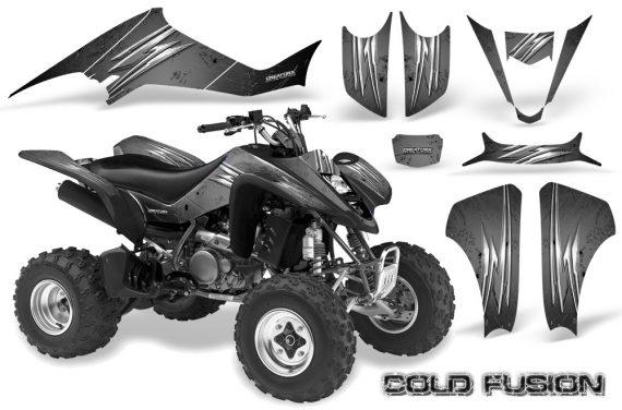Kawasaki KFX400 03 08 CreatorX Graphics Kit Cold Fusion Silver 570x376 - Kawasaki KFX 400 Graphics