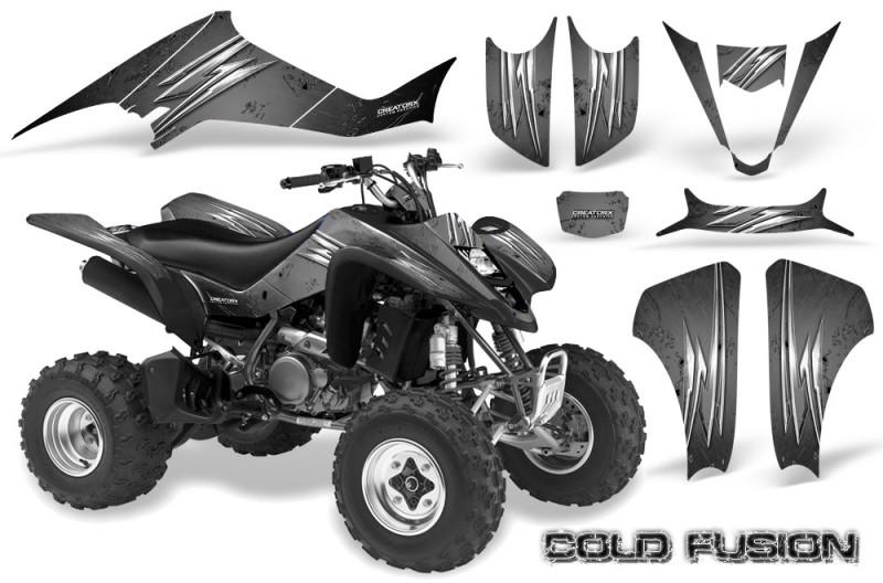 Kawasaki-KFX400-03-08-CreatorX-Graphics-Kit-Cold-Fusion-Silver