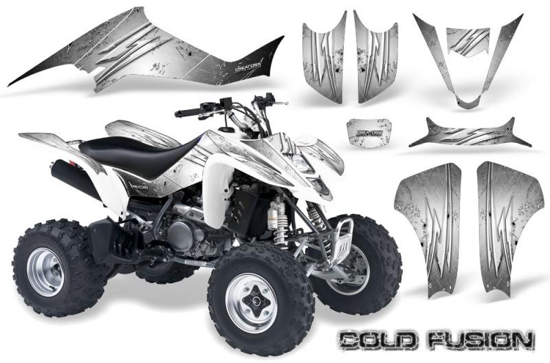 Kawasaki-KFX400-03-08-CreatorX-Graphics-Kit-Cold-Fusion-White
