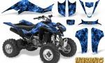 Kawasaki KFX400 03 08 CreatorX Graphics Kit Inferno Blue 150x90 - Kawasaki KFX 400 Graphics