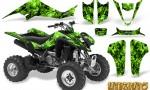 Kawasaki KFX400 03 08 CreatorX Graphics Kit Inferno Green 150x90 - Kawasaki KFX 400 Graphics
