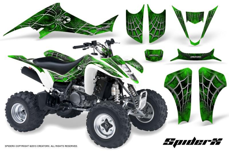 Kawasaki-KFX400-03-08-CreatorX-Graphics-Kit-SpiderX-Green-WB