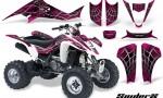 Kawasaki KFX400 03 08 CreatorX Graphics Kit SpiderX Pink WB 150x90 - Kawasaki KFX 400 Graphics