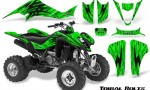 Kawasaki KFX400 03 08 CreatorX Graphics Kit Tribal Bolts Green 150x90 - Kawasaki KFX 400 Graphics