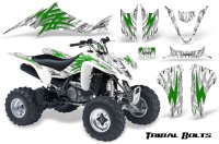 Kawasaki-KFX400-03-08-CreatorX-Graphics-Kit-Tribal-Bolts-Green-White