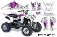 Kawasaki-KFX400-03-08-CreatorX-Graphics-Kit-Tribal-Bolts-Pink-White