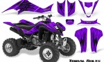 Kawasaki KFX400 03 08 CreatorX Graphics Kit Tribal Bolts Purple 150x90 - Kawasaki KFX 400 Graphics