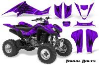 Kawasaki-KFX400-03-08-CreatorX-Graphics-Kit-Tribal-Bolts-Purple