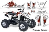 Kawasaki-KFX400-03-08-CreatorX-Graphics-Kit-Tribal-Bolts-Red-White