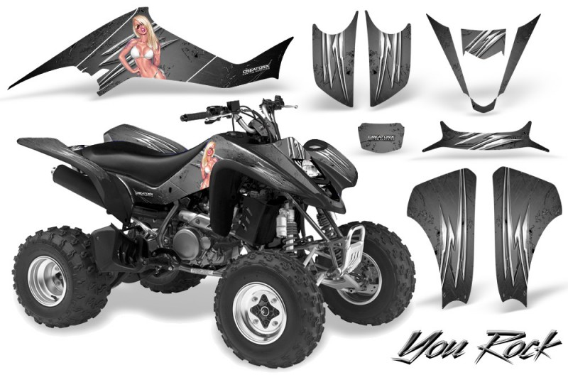 Kawasaki-KFX400-03-08-CreatorX-Graphics-Kit-You-Rock-Silver