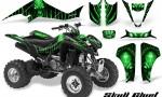 Kawasaki KFX400 03 08 CreatorX Graphics Skull Chief Green 150x90 - Kawasaki KFX 400 Graphics