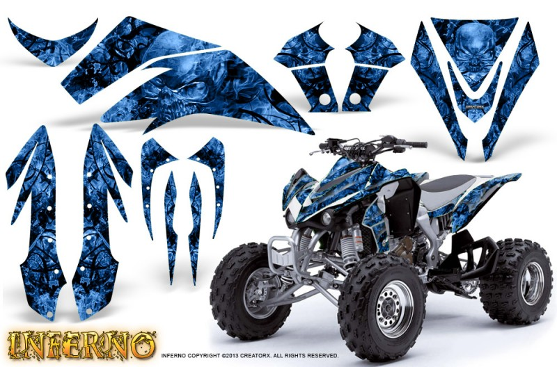 Kawasaki-KFX450-CreatorX-Graphics-Kit-Inferno-Blue