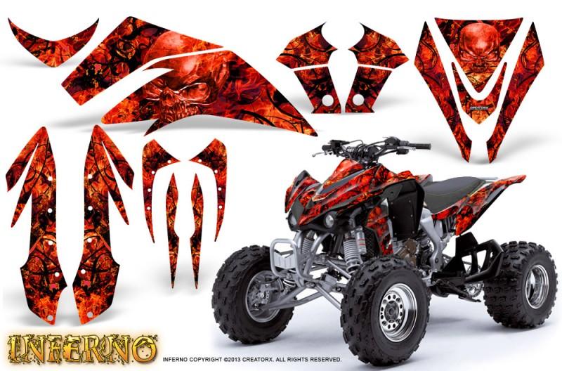 Kawasaki-KFX450-CreatorX-Graphics-Kit-Inferno-Red