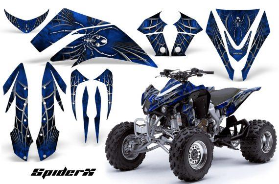 Kawasaki KFX450 CreatorX Graphics Kit SpiderX Blue 570x376 - Kawasaki KFX 450 Graphics