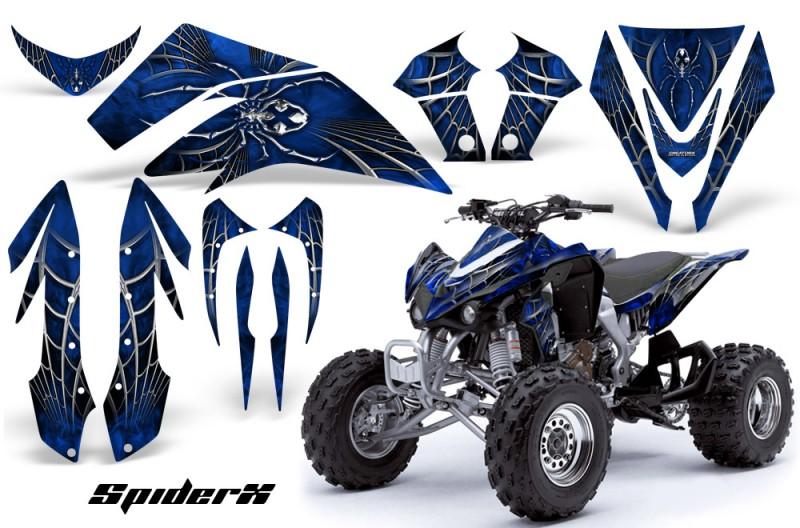 Kawasaki-KFX450-CreatorX-Graphics-Kit-SpiderX-Blue