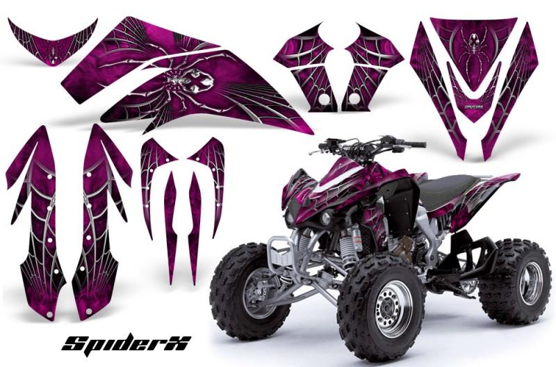 Kawasaki-KFX450-CreatorX-Graphics-Kit-SpiderX-Pink