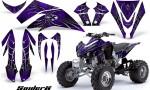 Kawasaki KFX450 CreatorX Graphics Kit SpiderX Purple 150x90 - Kawasaki KFX 450 Graphics