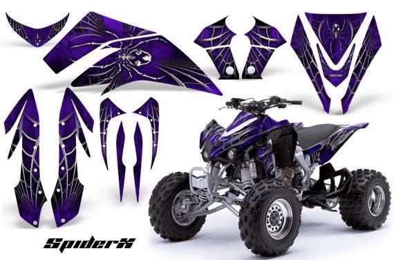 Kawasaki KFX450 CreatorX Graphics Kit SpiderX Purple 570x376 - Kawasaki KFX 450 Graphics