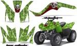 Kawasaki KFX90 AMR Graphics Kit BC G 150x90 - Kawasaki KFX 90 2007-2012 Graphics