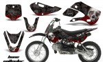 Kawasaki KLX 110 KX 65 00 09 NP AMR Graphic Kit BC B 150x90 - Kawasaki KLX110 2002-2009 Graphics