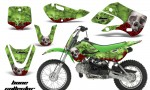 Kawasaki KLX 110 KX 65 00 09 NP AMR Graphic Kit BC G 150x90 - Kawasaki KLX110 2002-2009 Graphics
