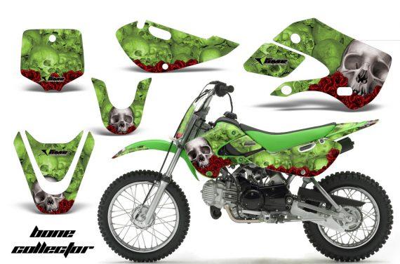 Kawasaki KLX 110 KX 65 00 09 NP AMR Graphic Kit BC G 570x376 - Kawasaki KLX110 2002-2009 Graphics