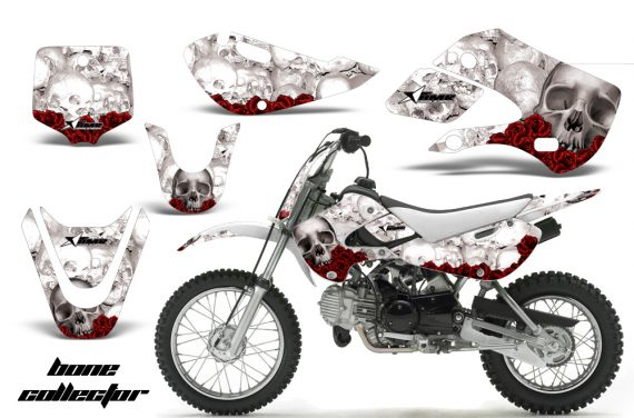 Kawasaki KLX 110 KX 65 00 09 NP AMR Graphic Kit BC W 570x376 - Kawasaki KLX110 2002-2009 Graphics