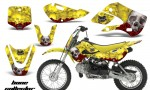 Kawasaki KLX 110 KX 65 00 09 NP AMR Graphic Kit BC Y 150x90 - Kawasaki KLX110 2002-2009 Graphics