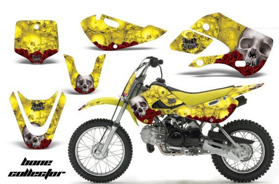 Kawasaki KLX 110 KX 65 00 09 NP AMR Graphic Kit BC Y 570x376 - Kawasaki KLX110 2002-2009 Graphics