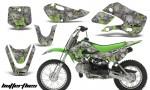 Kawasaki KLX 110 KX 65 00 09 NP AMR Graphic Kit BF GS 150x90 - Kawasaki KLX110 2002-2009 Graphics