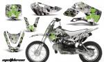 Kawasaki KLX 110 KX 65 00 09 NP AMR Graphic Kit MELDOWN GREEN WHITEBG 150x90 - Kawasaki KLX110 2002-2009 Graphics