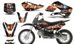 Kawasaki KLX 110 KX 65 00 09 NP AMR Graphic Kit MH BO 150x90 - Kawasaki KLX110 2002-2009 Graphics