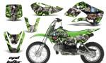 Kawasaki KLX 110 KX 65 00 09 NP AMR Graphic Kit MH GS 150x90 - Kawasaki KLX110 2002-2009 Graphics