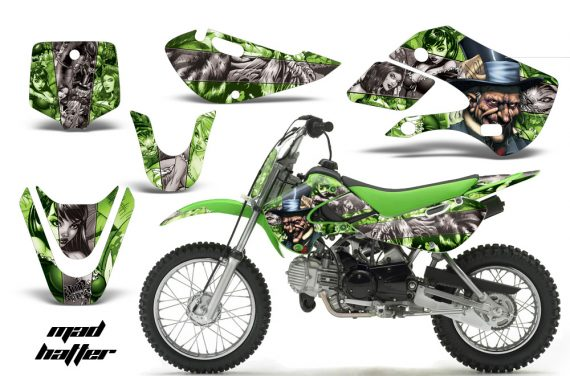 Kawasaki KLX 110 KX 65 00 09 NP AMR Graphic Kit MH GS 570x376 - Kawasaki KLX110 2002-2009 Graphics