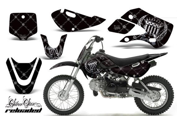 Kawasaki KLX 110 KX 65 00 09 NP AMR Graphic Kit SSR CHB 570x376 - Kawasaki KLX110 2002-2009 Graphics
