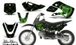 Kawasaki KLX 110 KX 65 00 09 NP AMR Graphic Kit SSR GB 150x90 - Kawasaki KLX110 2002-2009 Graphics