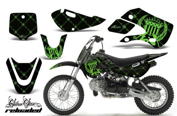 Kawasaki KLX 110 KX 65 00 09 NP AMR Graphic Kit SSR GB 570x376 - Kawasaki KLX110 2002-2009 Graphics
