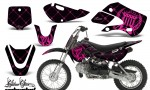 Kawasaki KLX 110 KX 65 00 09 NP AMR Graphic Kit SSR PB 150x90 - Kawasaki KLX110 2002-2009 Graphics
