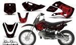 Kawasaki KLX 110 KX 65 00 09 NP AMR Graphic Kit SSR RB 150x90 - Kawasaki KLX110 2002-2009 Graphics