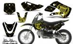 Kawasaki KLX 110 KX 65 00 09 NP AMR Graphic Kit SSR YB 150x90 - Kawasaki KLX110 2002-2009 Graphics