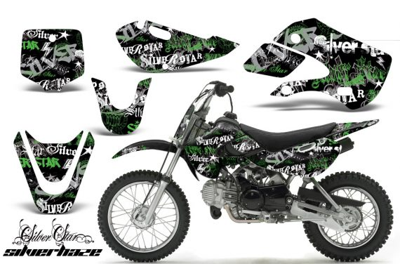 Kawasaki KLX 110 KX 65 00 09 NP AMR Graphic Kit SSSH GB 570x376 - Kawasaki KLX110 2002-2009 Graphics