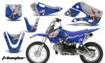 Kawasaki KLX 110 KX 65 00 09 NP AMR Graphic Kit TB BL 150x90 - Kawasaki KLX110 2002-2009 Graphics