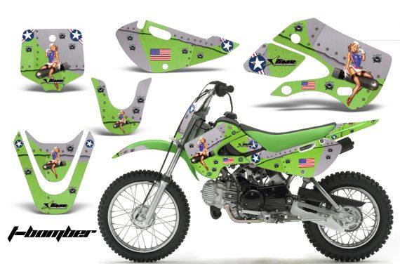 Kawasaki KLX 110 KX 65 00 09 NP AMR Graphic Kit TB G 570x376 - Kawasaki KLX110 2002-2009 Graphics