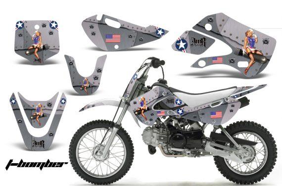 Kawasaki KLX 110 KX 65 00 09 NP AMR Graphic Kit TB S 570x376 - Kawasaki KLX110 2002-2009 Graphics