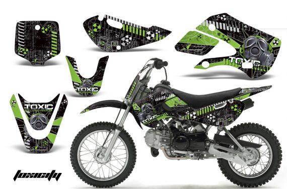Kawasaki KLX 110 KX 65 00 09 NP AMR Graphic Kit TOX GK 570x376 - Kawasaki KLX110 2002-2009 Graphics