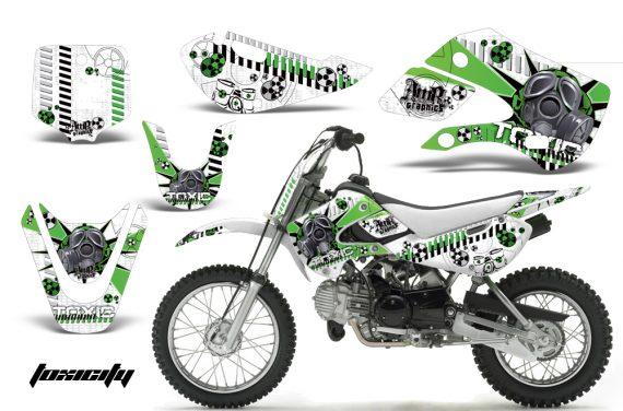 Kawasaki KLX 110 KX 65 00 09 NP AMR Graphic Kit TOX GW 570x376 - Kawasaki KLX110 2002-2009 Graphics