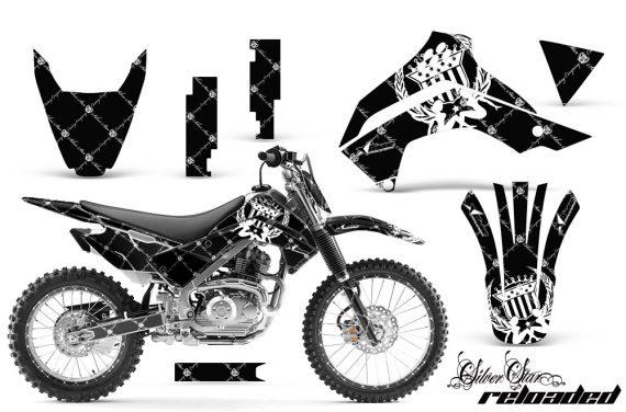 Kawasaki KLX 140 2008 2012 AMR Graphic Kit SSR WB NPs 570x376 - Kawasaki KLX140 2008-2017 Graphics