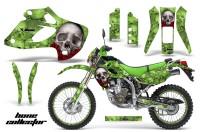 Kawasaki-KLX-250-98-03-DTRACKER-AMR-Graphics-Kit-Bones-G-NPs