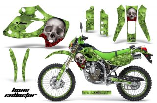 Kawasaki-KLX-250-98-03-DTRACKER-AMR-Graphics-Kit-Bones-G-NPs