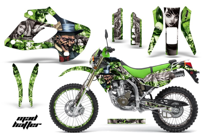 Kawasaki-KLX-250-98-03-DTRACKER-AMR-Graphics-Kit-Mad-Hatter-GS-NPs